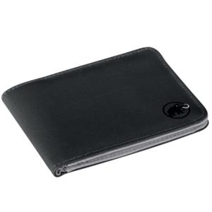 Geldbörse Mammut Flap Wallet Black 0001, Mammut