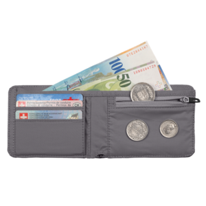 Geldbörse MAMMUT Flap Wallet Mélange Dark Lava, Mammut