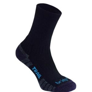 Socken Bridgedale Hike Lightweight Merino Performance Boot Women's black/purple/016