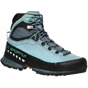 Schuhe La Sportiva TX5 GTX Women Stone blau / jade green, La Sportiva