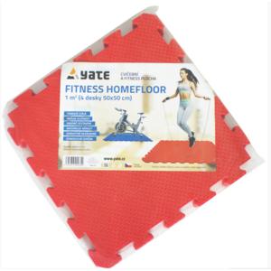 Unterlage Yate Fitness Homefloor SET 4 stück / pack, Yate