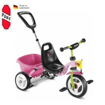 Dreirad PUKY Carry Touring Tipper CAT 1S pink, Puky