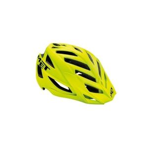 Helm Met Terra matt yellow fluo / schwarz, Met