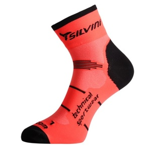Socken Silvini Orato UA445 orange, Silvini