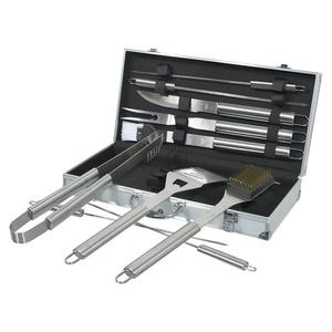 Grill- Werkzeug Set 11 St. Cattara ALU Handkoffer, Cattara
