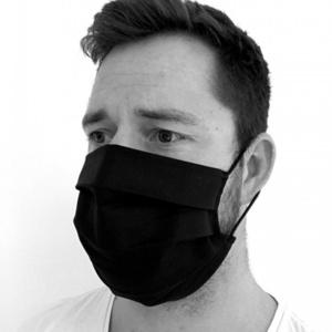 Monochrome Baumwolle maske KAMA, Kama