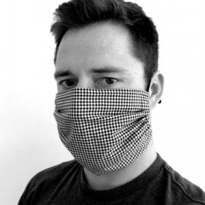 Baumwolle maske KAMA mit tasche  Filter, Kama