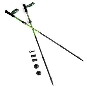Trekking Spazierstöcke 4-dílné Spokey SKY RUN ALU grau-grün, Spokey