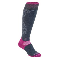 Socken Bridgedale All Mountain Women´s 873 gunmetal/berry, bridgedale