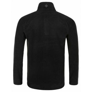 Männer Fleece-Sweatshirt Kilpi ALMERI-M Schwarz, Kilpi