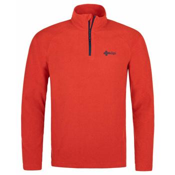 Männer Fleece-Sweatshirt Kilpi ALMERI-M rot, Kilpi