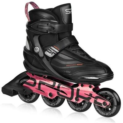 Rollerskates Spokey PRETO schwarz und Rosa, Spokey