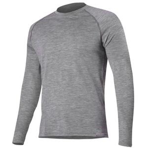Merino T-Shirt Lasting ATAR 8484 grey Wolle, Lasting