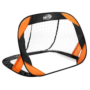 Self entfaltbarer fußball Tor Spokey HASBRO Beschützer NERF 2 St. schwarz-orange, Spokey