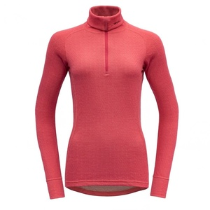 Damen Rollkragen Devold Duo Active Woman Zip Neck Poppy GO 239 244 A 190A