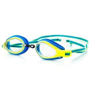 Schwimm- Brille Spokey KOBRA blau gelb, Spokey