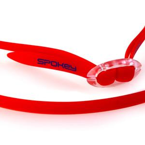 Schwimm- Brille Spokey SPARKI rot, spiegel Gläser, Spokey