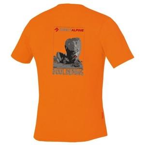 T-Shirt Direct Alpine Flash orange (bouldering), Direct Alpine