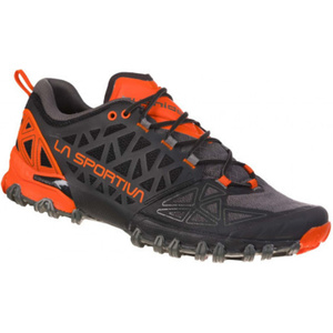 Schuhe La Sportiva Bushido II kohlenstoff / mandarine, La Sportiva