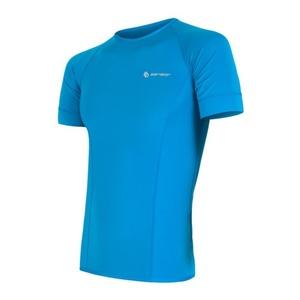 Herren T-Shirt Sensor Coolmax Fresh blue 13000007, Sensor