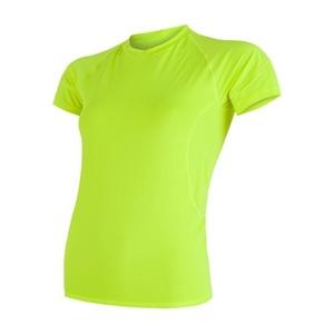 Damen T-Shirt Sensor Coolmax Fresh yellow reflex 17100027, Sensor