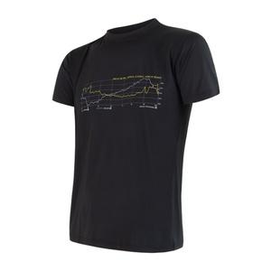 Herren T-Shirt Sensor COOLMAX FRESH PT TRACK black 17200048, Sensor
