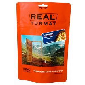 Real Turmat Kabeljau  sauerrahm mit kartoffeln, 108 g, Real Turmat