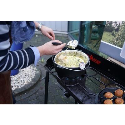 Guss- Topf Camp Chef 30 cm mit abdeckung a Korb, Camp Chef