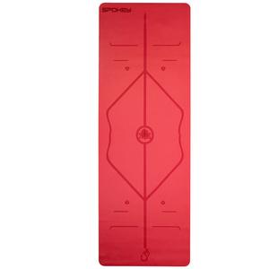 Gummi Unterlage  Training Spokey JUDY red 1,5 cm, Spokey