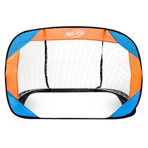Self entfaltbarer fußball Tor Spokey HASBRO Beschützer NERF 2 St. blau und orange, Spokey