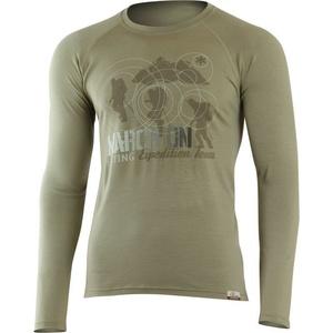 Merino T-Shirt Lasting DAKAR 6767 Khaki, Lasting