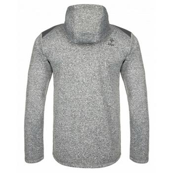 Männer Fleece-Sweatshirt Kilpi D ALB YM weiß, Kilpi