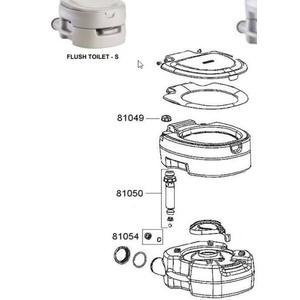 Ersatz- kappe  Pumpe für toilette Campingaz Portable Flush Small 81054, Campingaz