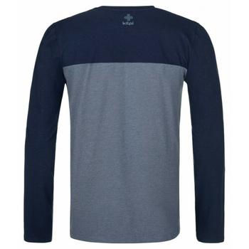 Herren T-Shirt langarm Kilpi DRUMON-M dunkelgrau, Kilpi