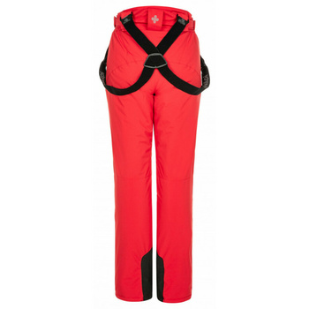 Frauen ski hose Kilpi ELARE-W rot, Kilpi