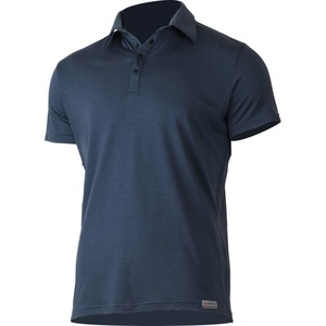 Herren Wolle polo Lasting ELIOT 5656 blue Wolle, Lasting