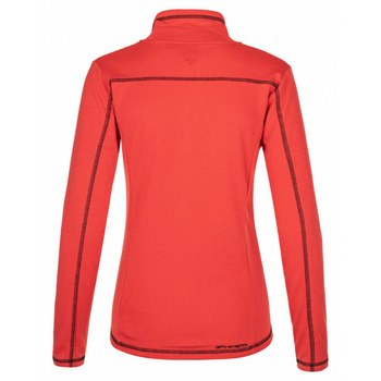 Frauen funktionelles Sweatshirt Kilpi ERIS-W rot, Kilpi
