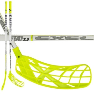 Floorball Stock EXEL F80 WEISS 2.9 98 SQUARE MB L, Exel