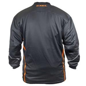 Torwart Dress EXEL S100 GOALIE JERSEY schwarz/orange, Exel