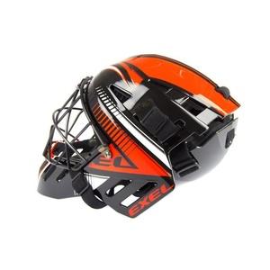 Golmanskaya Helm EXEL S100 HELMET senior schwarz/orange, Exel