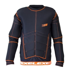 Golmanski Dress EXEL S100 SCHUTZ SHIRT schwarz/orange, Exel