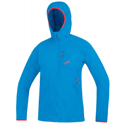 Jacke Direct Alpine Dru Light ozean / ziegel
