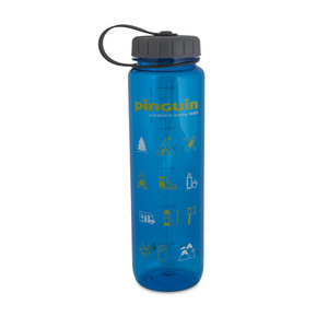 Flasche Pinguin Tritan Slim Bottle Blue 2020 1000 ml, Pinguin