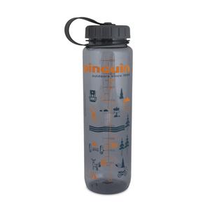 Flasche Pinguin Tritan Slim Bottle Grey 2020 1000 ml, Pinguin