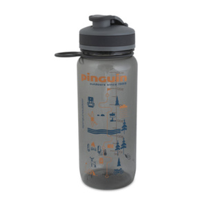 Flasche Pinguin Tritan Sport Bottle 0,65L grey, Pinguin