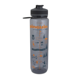 Flasche Pinguin Tritan Sport Bottle 1,0L grey, Pinguin