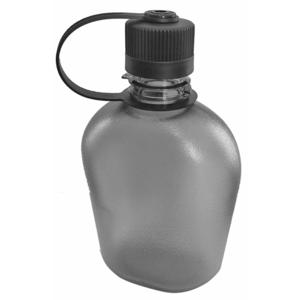 Flasche Pinguin Tritan Flask 1.0L grey, Pinguin