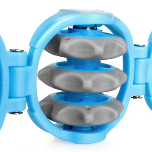 Gürtel mit massage zylinder Spokey LUAN, Spokey