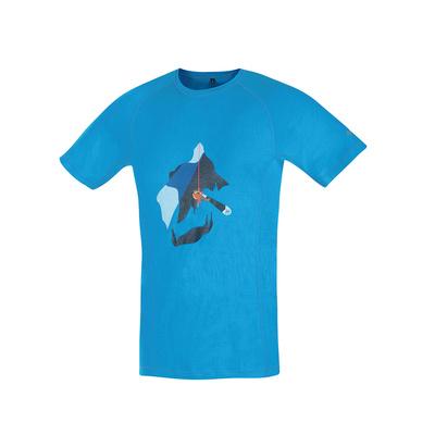 T-Shirt funktionell Direct Alpine pelzig ocean (gletscherspalte)