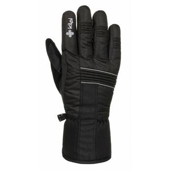 Unisex ski handschuhe Kilpi GRANT-U Schwarz, Kilpi